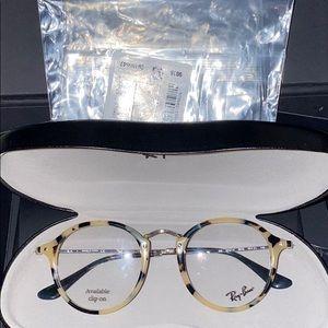 Brand new ray ban glasses no prescription. 2447-V